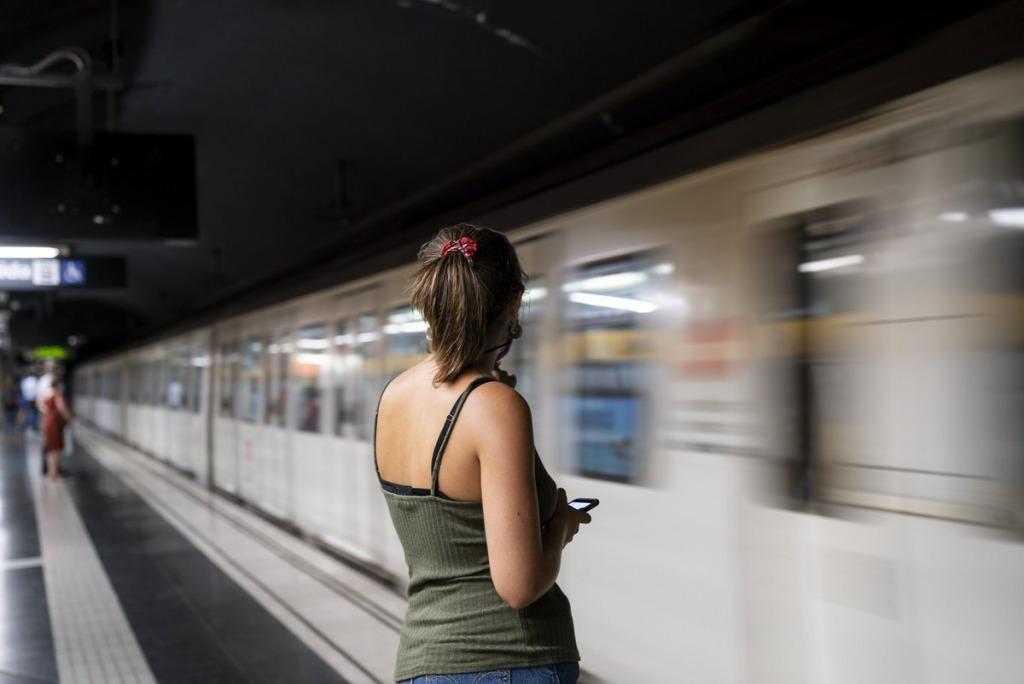 Assetjament transport públic